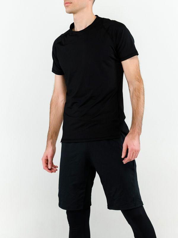 Спортивная футболка мужская черная
