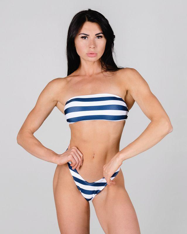 Купальник Blue Mona бикини завышенная посадка