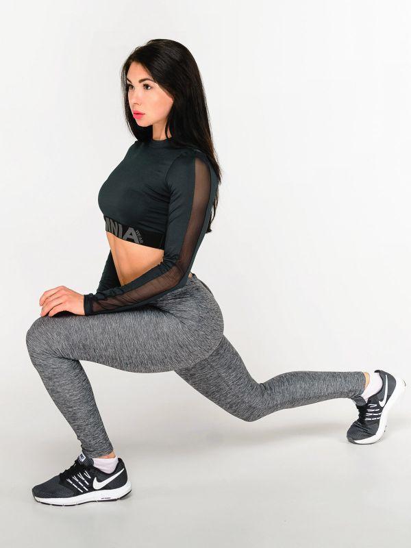 Костюм для фитнеса Grey Pro