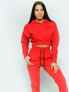 Спортивный костюм женский красный